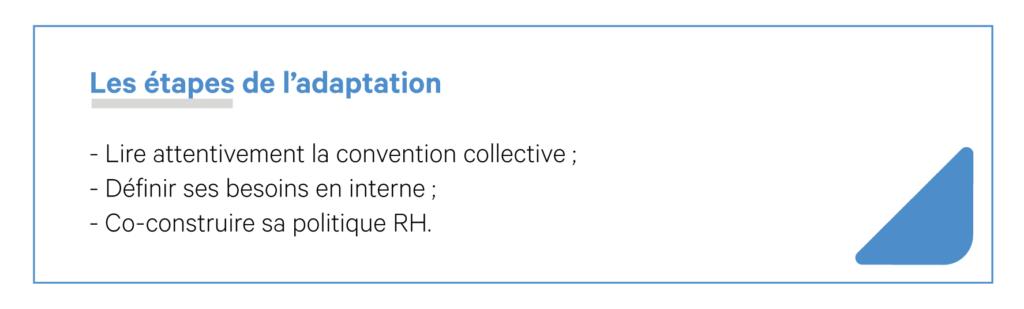 Convention collective et conseil rh